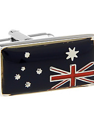 Australian flag cufflinks French shirt cuff nail