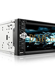 "6.5"" DVD Player with Multi color LED  ipod Bluetooth SD/USB"