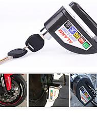 motocicleta disco de segurança bloqueio do acelerador ladrão bloqueio anti cadeia de alarme