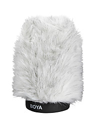 BOYA BY-P120 Furry Outdoor Interview Microphone Windshield Muff for Shotgun Capacitor Microphones