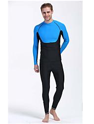Costumi da bagno Tops-Nuoto / Surf-Per uomo-Resistente ai raggi UV / Compressione-Bianco / Nero / Arancione