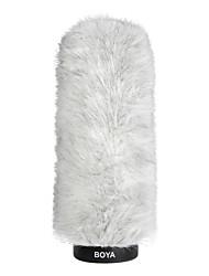 boya fourrure extérieure entretien microphone pare-brise manchon par-P220 pour les micros à condensateur de fusil de chasse
