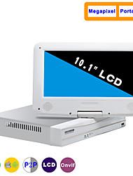 10,1-дюймовый 8-канальный 960P / 720p с HDMI и p2p ЖК NVR