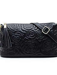 Women Cowhide Shell Shoulder Bag / Evening Bag / Mobile Phone Bag