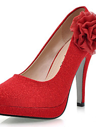 Women's Shoes Heel Heels / Platform Heels Wedding / Party & Evening / Dress Red/29-3