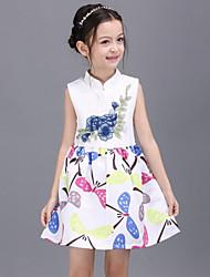 Vestido Chica de - Todas las Temporadas - Rayón - Blanco