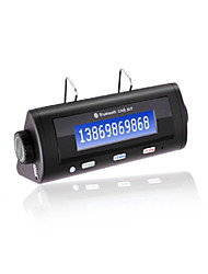 BT8106 Bluetooth Handsfree Car Kit, Bluetooth2.0/Car Charger/With 600mAh Li-ion Battery