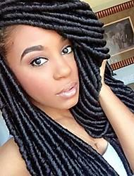bulk Comprar falso locs teme cabelo bloqueio 100% kanekalon trança