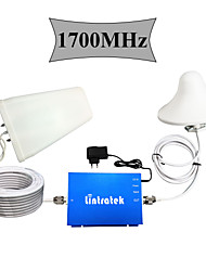 Lintratek® UMTS 1700MHz Cell Phones Signal Booster 4G AWS 1700 Booster Home Use Upgrade Version Full Kits