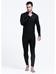 Men's Full Wetsuits Wetsuits Dive Skins Waterproof Thermal / Warm Ultraviolet Resistant Softness Elastane LYCRA® Chinlon Diving SuitLong
