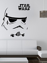 Stormtrooper Darth Vader Starwars Star Wars Vinyl Wall Stickers Wall Decals Home Decor Wall Art Decal Mural Wall Sticker
