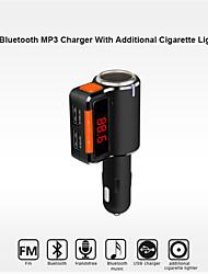 bc09 bluetooth kit mains libres de voiture pour allume-cigare / lecteur mp3