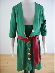 New Arrival One Piece Roronoa Zoro Cosplay Costume Custom Made Suit