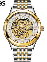 BOS Royal Series Automatic Mechanical Watch Hollow Mens Watch Fashion Business Trend Of Men's Watch Wrist Watch Cool Watch Unique Watch