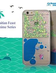 sanlead haitian pc de la série fête anime la poudre de couleur et fond liquide pour iphone6,6s (couleurs assorties)
