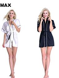 xfmax donne sexy del merletto biancheria di seta satin set baby-doll pigiameria vestito nightwear veste