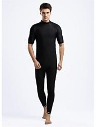 Men's Wetsuits Dive Skins Shorty Wetsuits Waterproof Thermal / Warm Ultraviolet Resistant Softness Elastane Chinlon LYCRA® Diving Suit