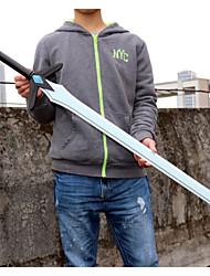 Inspired by Sword Art Online Kirito White Sword Dark Repulsor Cosplay Pvc Sword(1Pcs)