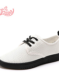 Women's Shoes  Low Heel Round Toe Fashion Sneakers Casual White