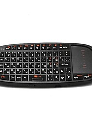 Rii RT-MWK10 Wireless  2.4GHz Keyboard Touchpad Combo w/ Laser Light for HTPC / Ipad TV Box (Russian)