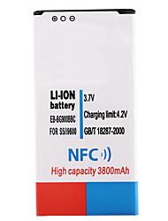 3.7V 3800mAh batterie li-ion avec NFC pour samsung i9600