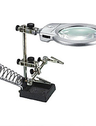Soldering Auxiliary Magnifier with 2 LED Light