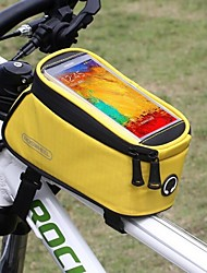 ROSWHEEL® Bike Bag 1.5LBike Frame Bag Waterproof / Rain-Proof / Touch Screen Bicycle Bag Nylon / Terylene Cycle BagSamsung Galaxy S5 /