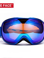 gafas de esquí snowboard doble capa googles de esquí mujeres de los hombres de gafas de esquí esférica puede contener la miopía gafas de