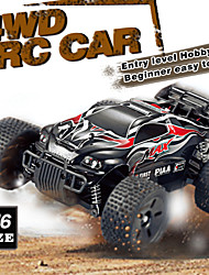 New!HuanQi 747A Brush Electric Truggy 1:16 High Speed RC Truck Four-wheel Drive Off-road Car  Entry Level Hobby Car