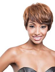 más vendido de Europa y los Estados Unidos de comercio exterior de África peluca ombre pelucas sintéticas de color de pelo.