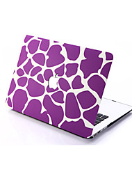 Purple Stone Style PC Materials Hollow Out Hard Cover Case For MacBook