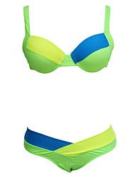 Women's  Calypso Color Block Bikini