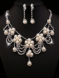 ZGTS Fashion Necklace & Earring Set