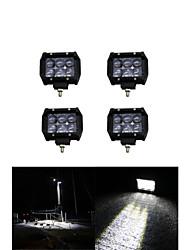 4x 30w osram levou luz de trabalho bar offroad 12v 24v ATV Offroad local para UTV 4x4