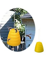 Garden Creations Bee Wasp Yellow Jacket Hornet BeeHive Trap Catcher Trapper Table