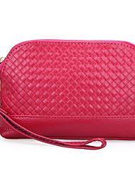 Minaudière / Sac de soirée / Porte-Monnaie / Mini Sac de Poignet / Mobile Bag Phone -Violet / Bleu / Vert / Jaune / Marron / Rouge / Noir