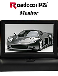 "view monitor do carro dvd tv traseira tela de 4,3 ""dobra lcd para estacionamento câmera sensor de dvd"