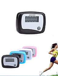 Electronic Digital LCD Step Run Pedometer / Walking Distance Calorie Counter