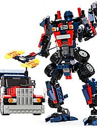 modello Autobot assemblare mattoni toysgudi blocchi film trasformatore Giocattolo bum robot giocattoli per bambini blebee 8713
