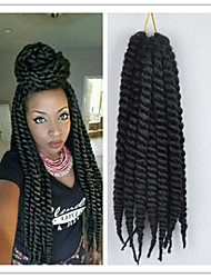 4Pcs/Pack Crochet Havana Twist Braid 2X Mambo Twist Hair Braid Kanekalon Fiber
