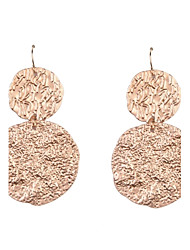 Fashion Women Irregular Disc Earrings