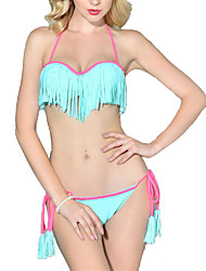 Womens Sexy Fringe Beach Swimwear Bikini