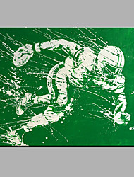 Oil Painting Modern Abstract Pure Hand Draw Ready To Hang Decorative Oil Painting The Play Sports