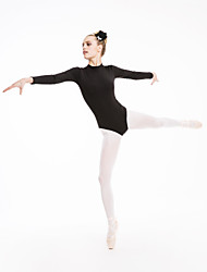 justaucorps(Noire Bleu Gris Vert Rose Violet Rouge Bleu Royal Blanc Jaune Bleu Ciel,Coton Lycra,Ballet Spectacle)Ballet Spectacle- pour