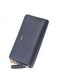 CKI Men Wallet Vintage Genuine Leather Unique Design Key Holder Men Top Layer Cowhide Business Biford