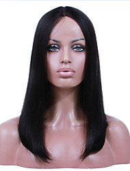 Premier Natural Looking Lace Front Wigs Brazilian Virgin Hair Wig Ciara Middle Part Long Bob Wigs