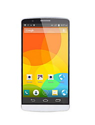 "JACKLEO JL553 5.5 "" Android 4.4 Smartphone 3G (Single SIM Quad Core 5 MP 512MB + 4 GB Negro / Blanco)"