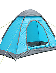 LANGYA Waterproof / Breathability Polyester One Room Tent Green / Blue / Orange