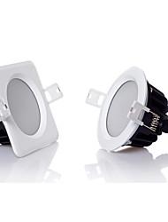 12W LED даунлайт 24 SMD 5630 1100 lm Тёплый белый / Холодный белый Регулируемая AC 220-240 V 1 шт.