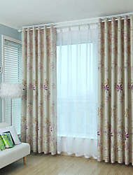 Two Panel Europe Contracted Style  Of The Sitting Room The Bedroom Of Children Room Curtain